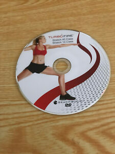Turbo Fire Stretch 40 Stretch 10 DVD ONLY Beachbody