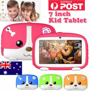 """7""""Kids Tablet PC Bluetooth for Education Android4.4 Quad Core 8GB WiFi Camera AU"""