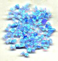 select from 2 good strong color Gilson OPAL crushed opal chips  inlay lapidary