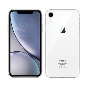 Apple iPhone XR 64GB Fully Unlocked (GSM+CDMA) AT&T T-Mobile Verizon White