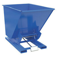 VESTIL D-150-LD Self Dump Hopper,Light Duty,1.5 cu yd,2K