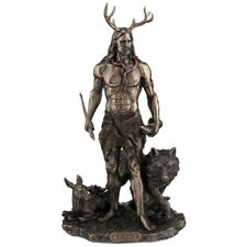 More details for new herne hunter pagan wicca figurine figure statue from nemesis now h3143