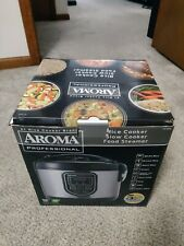 Aroma Professional 16 Cup Rice Cooker Stainless Steel - Model ARC-988SB