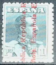 Spain #487 MNH CV$152.00 Alfonso XIII Republic Overprint