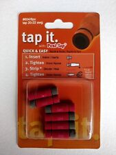 ZRTL-604-6 Lockitt Posi-Tap gray/red wire tap for 20-22 ga.(PTA-2022R) 6 pack
