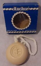 NOS Sailor Anchor Shower Soap on a Rope - New Bar in Box Vintage - Twincraft
