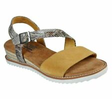 Womens Skechers Desert Kiss-Cactus Rose Strapped Ankle Sandals Size UK 7