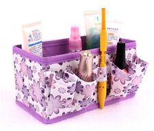 1PC Home Foldable Bright Stationary Bamboo Fibre Makeup Storage Box Bag PP YT8