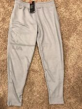 NWT UNDER ARMOUR UA MENS MK1 TAPERED LIGHT GRAY SWEAT PANTS SIZE L MSRP$55