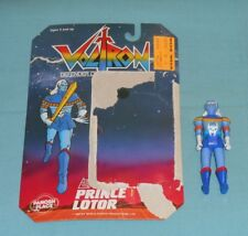 vintage Panosh Place VOLTRON figure PRINCE LOTOR with cardback