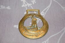 Antique Lynmouth Lighthouse commemorative  Horse Brass