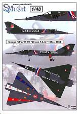 Syhart Decals 1/48 French MIRAGE IVP 40th Anniversary F.A.S. 1964-2004