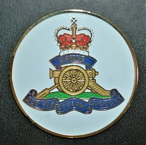 Royal Canadian Artillery - Uniface Medallion