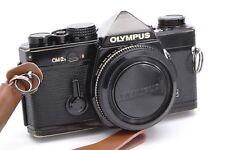 Olympus om-2n Black Body 35mm reflex SLR/new seals/