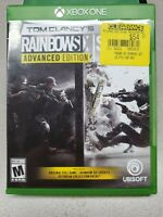 Tom Clancy's Rainbow Six Siege Advanced Edition - Xbox One (Brand new, Sealed)