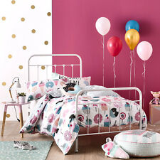 SWEET STUFF SINGLE bed QUILT DOONA DUVET COVER SET NEW LOLLIPOP CUPCAKE ADAIRS