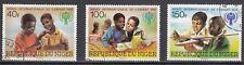 Niger 659 - 661 gestempelt Internationales Jahr des Kindes
