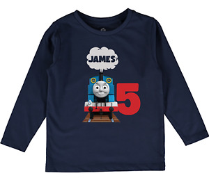 Personalised Thomas and Friends top Boys girls Toddler clothes birthday gift