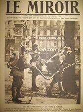 ALLEMAGNE BERLIN SPARTAKISTES LANCE-FLAMMES FLAMMENWERFER LE MIROIR 1919