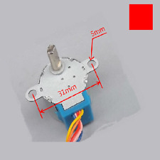 24BYJ48 Gear Stepper Motor DC 5V 4-Phase 5-Wire Micro Reduction (5.625 x 1/16)