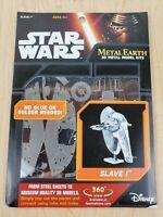 Star Wars Slave I 3D Model No Glue or Solder Needed - Fascinations Metal Earth