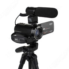 Ordro 1080P 16X Zoom 24Mp Digital Video Camera Camcorder 32Gb+ Microphone+Tripod