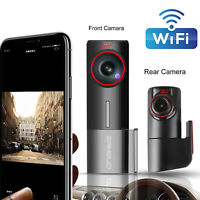 WIFI Dash Cam Dual Lens FHD 1080P Front and inside Camera G-Sensor Night Vision