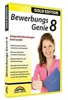 Bewerbungs Genie 8 von Markt + Technik GmbH | Software | Zustand gut