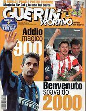 Guerin Sportivo.Roberto Baggio & Antonio Cassano,Alessio Tacchinardi,M.Lippi,iii
