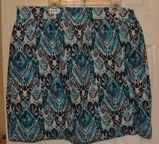 G.H Bass & Co. Womens Skirt. Size 6. Black/Gray/White