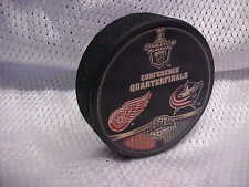 2009 NHL Detroit Red Wings v Columbus Blue Jackets Stanley Cup Playoffs Puck
