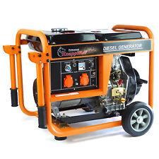 KnappWulf Diesel Stromerzeuger KW5500 Generator Notstromaggregat 1-Phase 230V