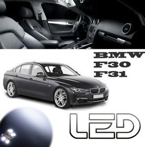 BMW F30 F31 20 Ampoules LED Blanc intérieur Habitacle Plafonnier Miroirs Portes