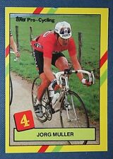 Professional Cycling   Muller  1988 PDM Team     Colour Card