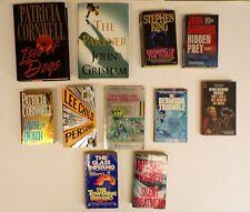 Thriller/Horror 11 Book Lot: Stephen King, John Grisham, The Glass Inferno, Lee