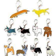 Dog Tag Enamel Accessories Pet Puppy ID Metal Collar Necklace Pendant Disc Disk