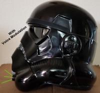 Ukswrath's Shadowtrooper helmet Audio System w/Voice Modulation