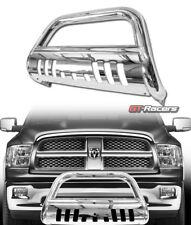 2009-2018 RAM 1500 SS CHROME STEEL BULL BAR BRUSH PUSH BUMPER GRILL GRILLE GUARD