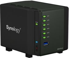 """Synology DS419SLIM Compact 4-Bay Nas W/2.5"""" Bays, Dual-Core 1.33Ghz,"""
