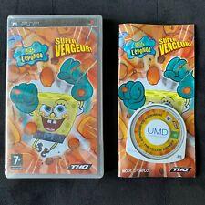 Bob L'éponge Super Vengeur - Jeu Playstation PSP Complet