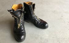 VINTAGE CHIPPEWA WORKER LEATHER BOOTS MOTORCYCLE BOOT SIZE 10E