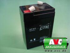Bleigel batería 6v 5ah batería de plomo plomo gel ctm ct5-6 4,5ah