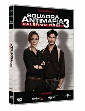 COFANETTO DVD - SQUADRA ANTIMAFIA PALERMO OGGI SERIE STAGIONE 3 SERIE TV (5 DVD)