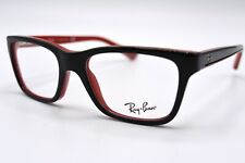 NEW RAY-BAN JUNIOR RB1536 3573 BLACK RED AUTHENTIC EYEGLASSES FRAME 46-16 #31R