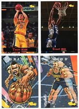1994 Classic Draft Picks Complete Set 105 Basketball Cards NM-MT Includes Comics