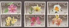 HONG KONG SG497/502 1985 NATIVE FLOWERS MNH