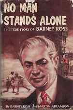 """World Boxing Champion BARNEY ROSS """"No Man Stands Alone"""" (1957) SIGNED by Ross"""