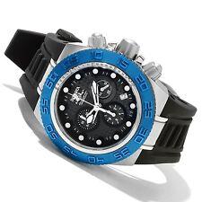 Invicta 10866 Subaqua Sport Chronograph Blue Carbon Fiber Dial Mens Watch