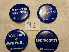 Penn State Bank Buttons - Many to choose from - $3.50 each
