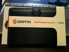 """Griffin Elan Passport Graphite Folio Protective Case for 7"""" NOOK or Kindle Fire"""